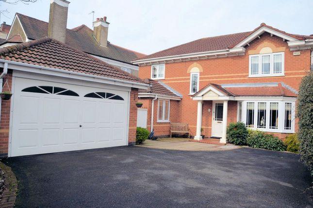 Thumbnail Detached house for sale in Fairfax Close, Ashby De La Zouch