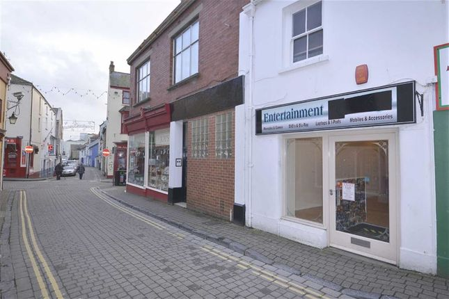 Commercial property for sale in Upper Frog Street, Tenby, Dyfed
