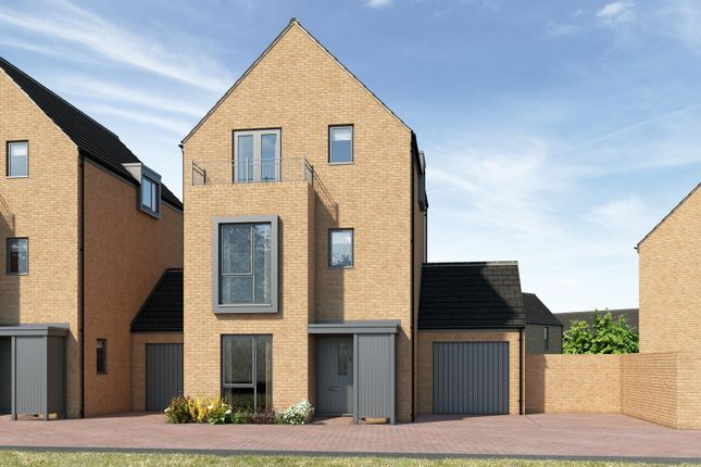 Link-detached house for sale in 'the Castleford' Off Hengrove Promenade, Bristol