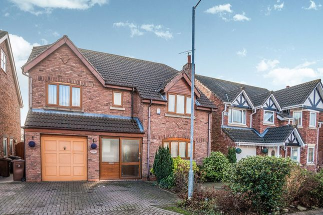 Thumbnail Detached house for sale in Brooklands, Sutton-On-Hull, Hull