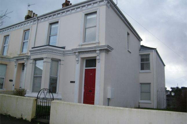 Thumbnail End terrace house to rent in Albany Road, Falmouth