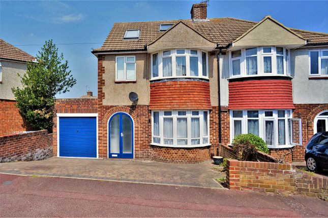 Thumbnail Semi-detached house to rent in Allington Drive, Rochester, Kent