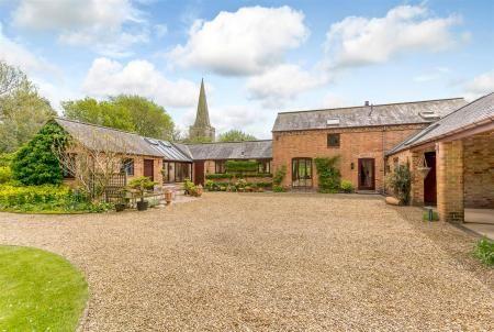 Thumbnail Barn conversion for sale in Church Lane, Gilmorton, Leicestershire
