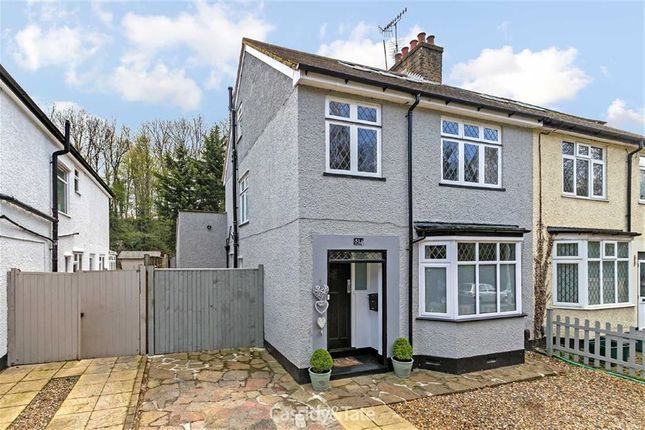 Thumbnail Semi-detached house for sale in Old Watford Road, St Albans, Hertfordshire