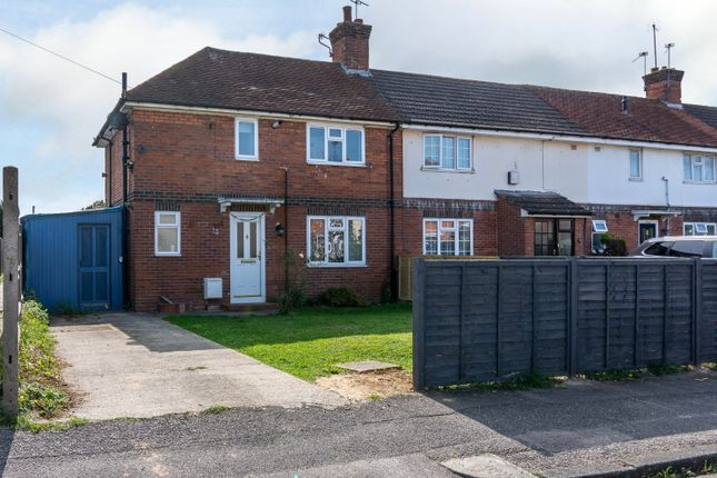 Thumbnail 3 bed end terrace house for sale in Blagdon Road, Reading, Berkshire