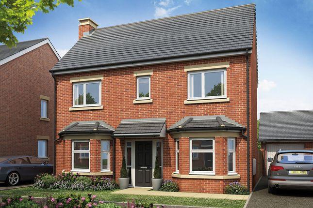 Thumbnail Detached house for sale in Plot 80, The Finan, Burton Road, Manorfields, Castle Gresley