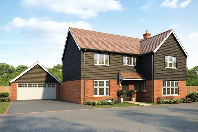 Thumbnail Detached house for sale in The Junipers At The Mulberries At Lodge Park, Hatfield Road, Witham, Essex