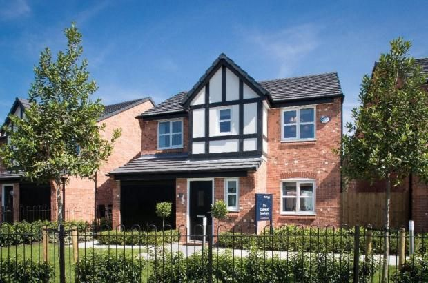 Thumbnail Detached house for sale in Bury & Bolton Road, Bury
