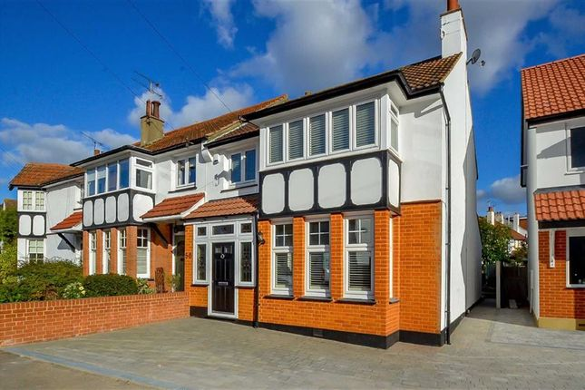 Thumbnail End terrace house for sale in Vernon Road, Leigh-On-Sea, Essex