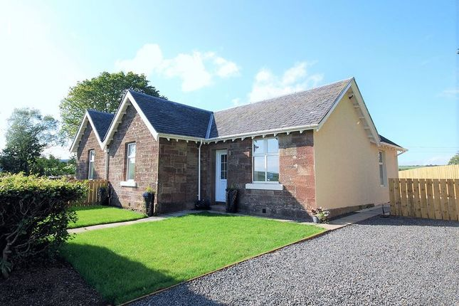Thumbnail Semi-detached bungalow for sale in 2 West Cottages, Knockdon, By Maybole