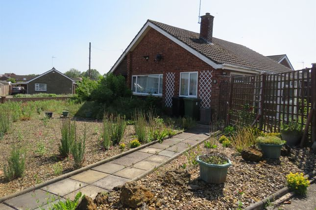 Thumbnail Detached bungalow for sale in Westfields, Narborough, King's Lynn