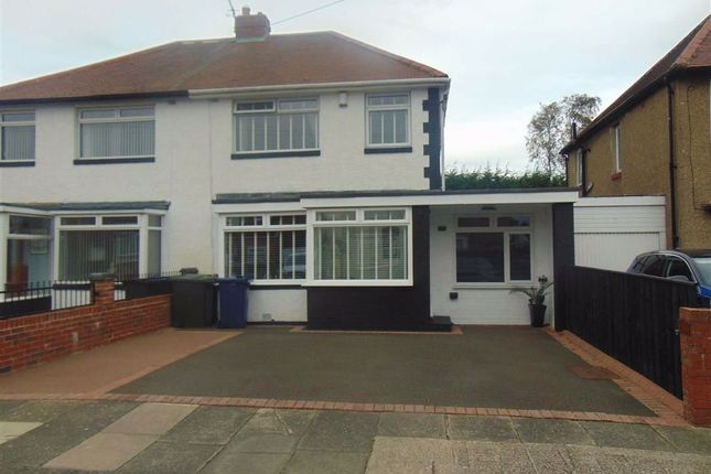 4 bed semi-detached house for sale in Northcote Avenue, West Denton, Newcastle Upon Tyne NE5