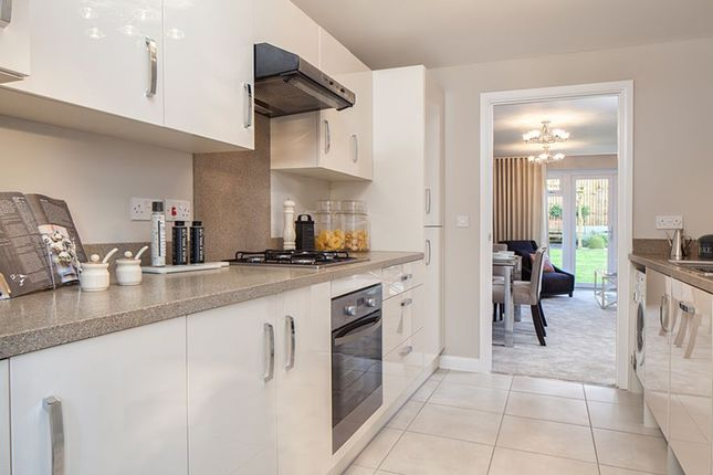 "Thumbnail Terraced house for sale in ""Oakfield"" at Wonastow Road, Monmouth"