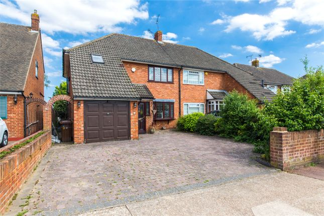 Thumbnail Semi-detached house for sale in Parkfields, Strood, Kent