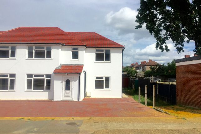 Thumbnail Semi-detached house to rent in Pinkwell Lane, Hayes