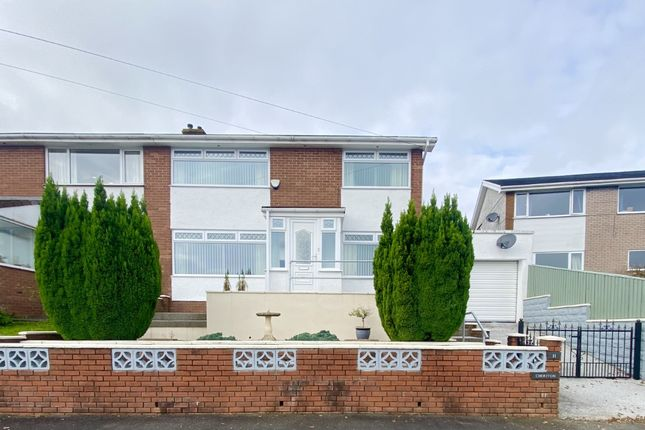 Thumbnail Semi-detached house for sale in Willow Grove, Aberdare, Mid Glamorgan