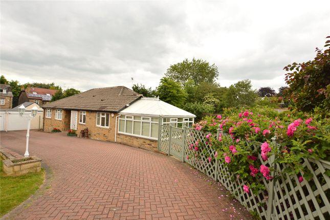 Thumbnail Detached bungalow for sale in Heatherley, Springwood Gardens, Oakwood, Leeds