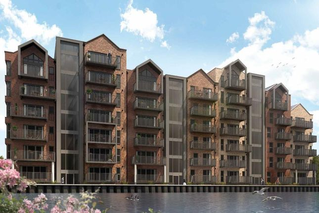 Thumbnail 1 bed flat for sale in Rivermill Lofts, The Stamford, Abbey Road, Barking, Essex