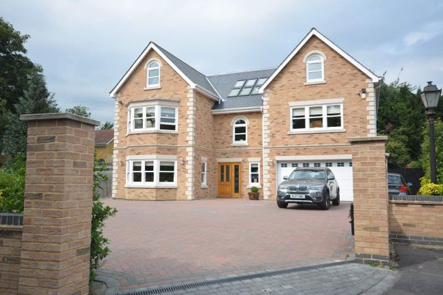 Thumbnail Detached house for sale in Freeman Way, Emerson Park, Hornchurch, Essex