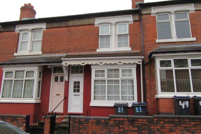 Thumbnail Terraced house for sale in Alderson Road, Alum Rock, Birmingham, West Midlands