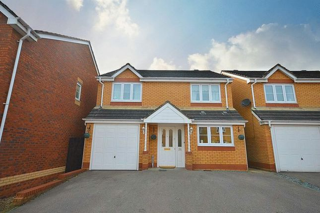 4 bed detached house for sale in Churchwood, Griffithstown, Pontypool