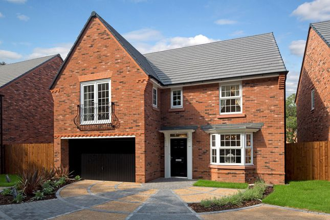 """Thumbnail Detached house for sale in """"Shelbourne"""" at Hassall Road, Alsager, Stoke-On-Trent"""