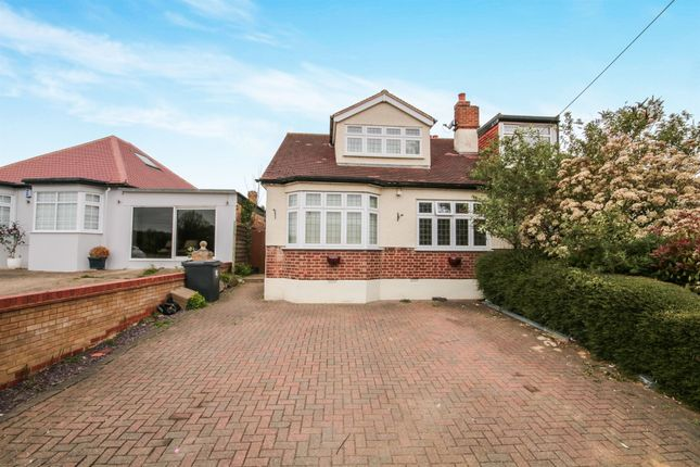 Thumbnail Semi-detached bungalow for sale in St Leonards Road, Nazeing, Waltham Abbey