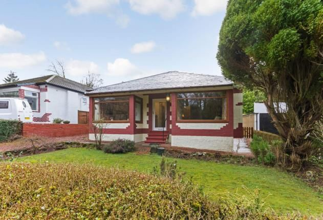 Thumbnail Bungalow for sale in Capel Avenue, Newton Mearns, Glasgow, East Renfrewshire