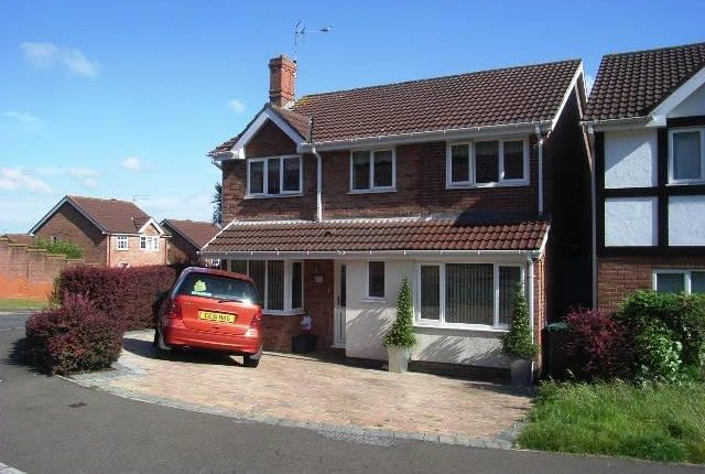Thumbnail Detached house to rent in Wentwood Road, Caerleon, Newport