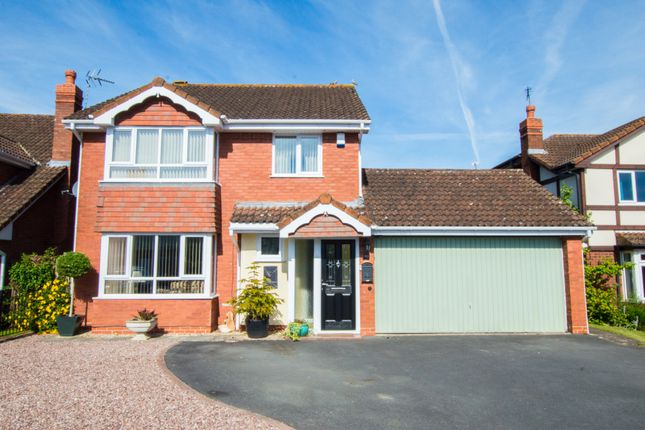 Thumbnail Detached house to rent in Upton Close, Barnwood, Gloucester
