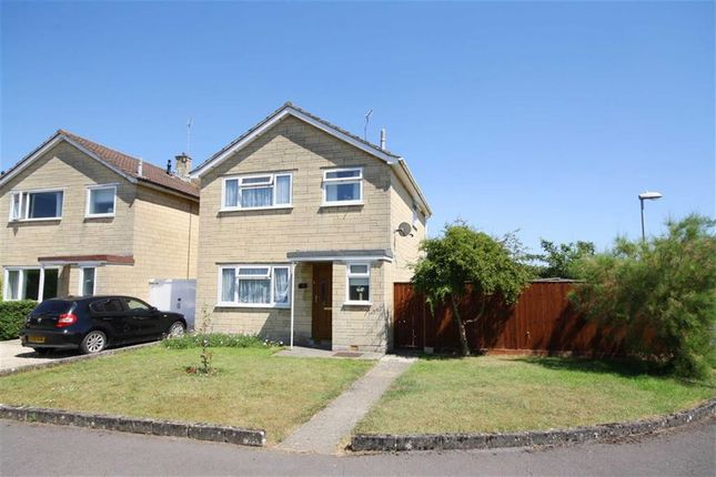 Thumbnail Detached house for sale in Wells Close, Chippenham, Wiltshire