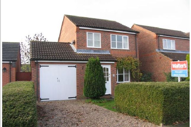 3 bed detached house to rent in Shiregate, Metheringham, Lincoln LN4