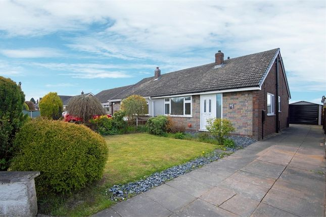 Thumbnail Semi-detached bungalow for sale in Stock Lane, Wybunbury, Nantwich, Cheshire