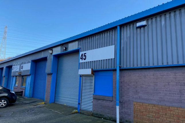 Thumbnail Industrial to let in Unit 45 Albion Industrial Estate, Pontypridd