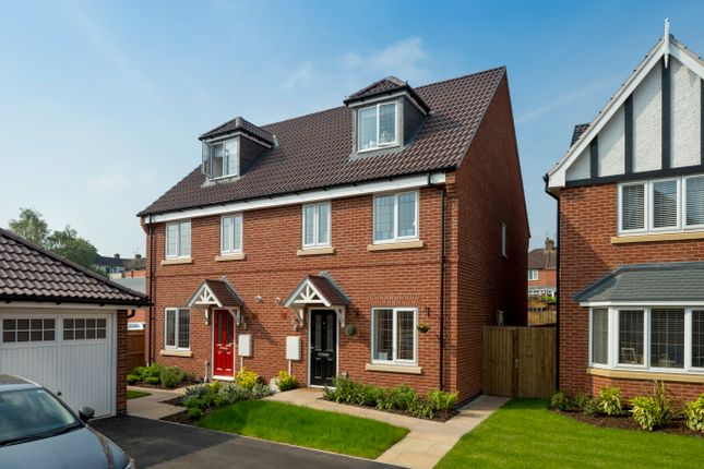Thumbnail Semi-detached house for sale in The Brailsford, Off Woodgate Drive, Chellaston, Derby