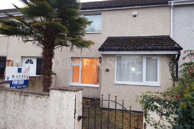 Thumbnail Terraced house for sale in Ledbrook Close, St. Dials, Cwmbran.