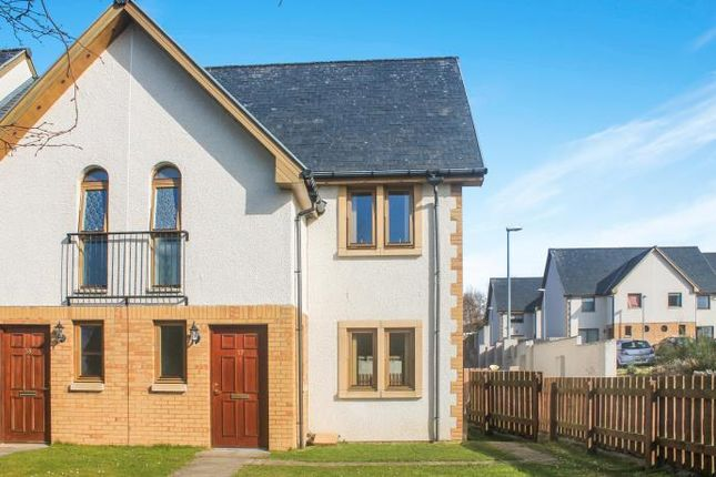 Thumbnail End terrace house to rent in Inshes Mews, Inverness