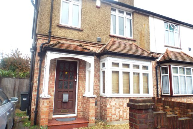 Thumbnail Semi-detached house to rent in Buckingham Avenue, Feltham