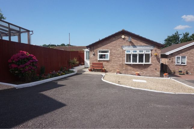 Thumbnail Detached bungalow for sale in Shirley Close, Barry