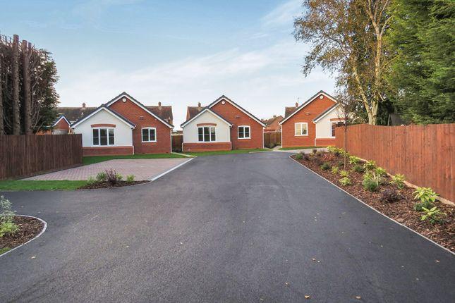Thumbnail Detached bungalow for sale in Tonadine Close, Ashmore Park Wednesfield, Wolverhampton