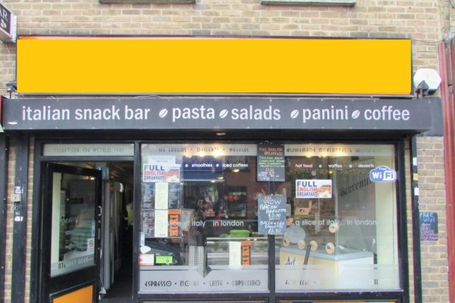 Restaurant/cafe to let in Roman Road, Bow