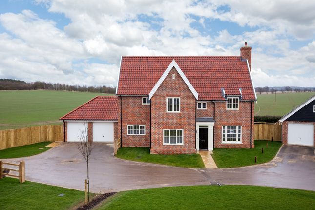 Thumbnail Detached house for sale in The Street, Gazeley, Newmarket