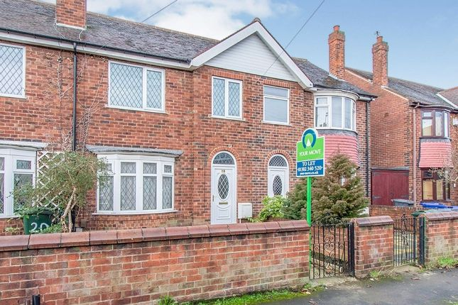 Thumbnail Semi-detached house to rent in Glamis Road, Doncaster