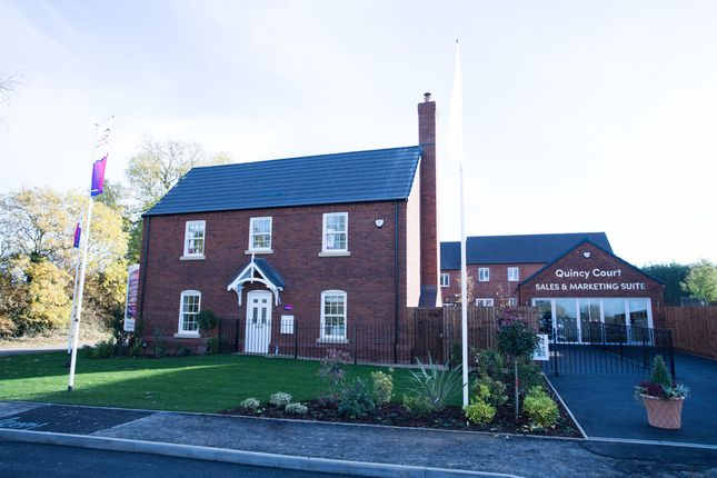 Thumbnail Detached house for sale in Brockhall Road, Flore, Northampton