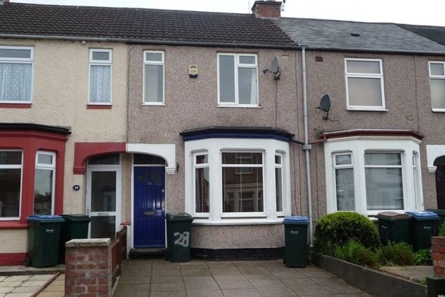 Thumbnail Terraced house to rent in Stevenson Road, Coundon