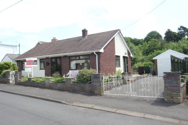 Thumbnail Detached bungalow for sale in Alexandra Road, Abergavenny