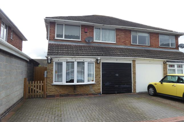 Thumbnail Semi-detached house for sale in The Hayes, Northfield, Birmingham