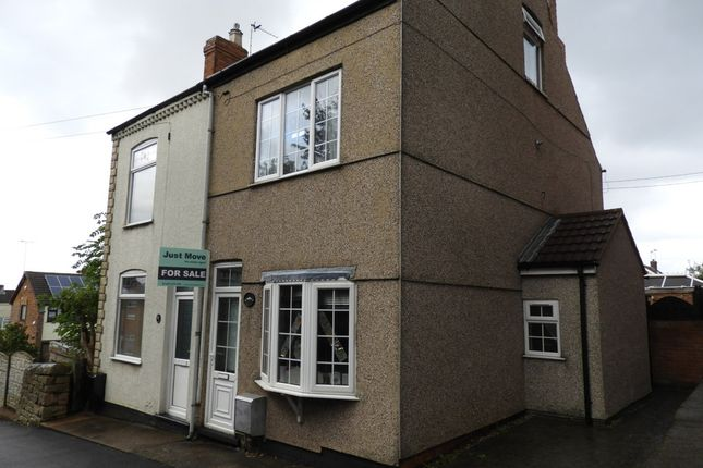 Thumbnail Semi-detached house for sale in Central Drive, Shirebrook, Mansfield