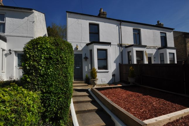 Thumbnail End terrace house to rent in Hardwicke Road, Dover