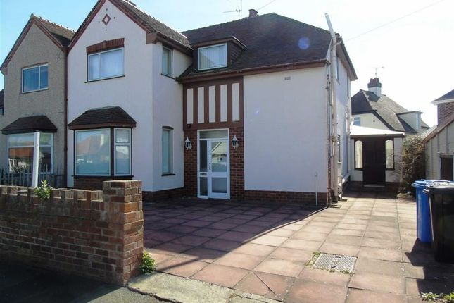 Thumbnail Semi-detached house for sale in Rosehill Road, Rhyl, Denbighshire